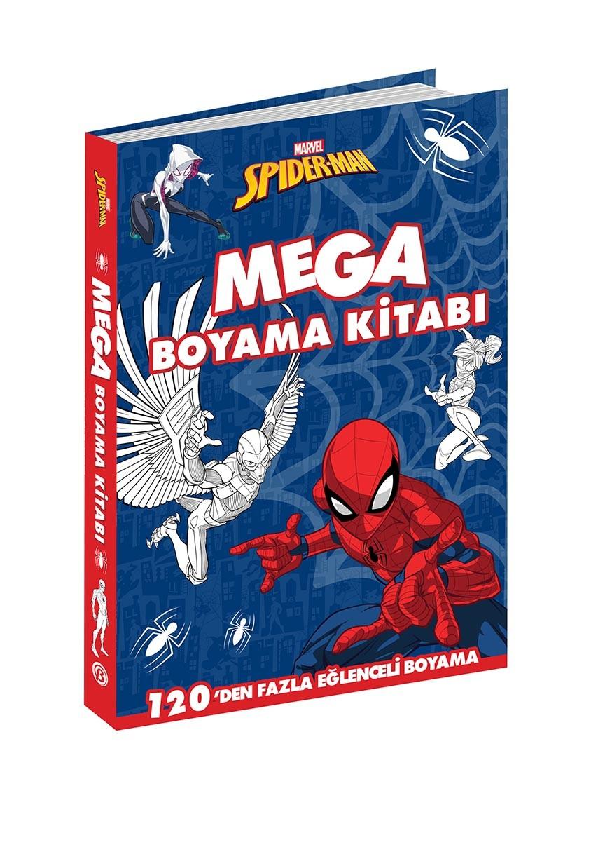 Marvel Spider Man Mega Boyama Beta Cocuk
